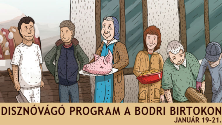Disznóvágó program a Bodri Birtokon